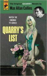 Quarry's list Quarry Books in Order
