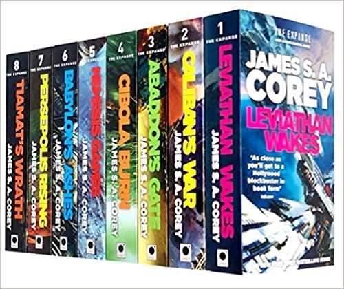 James S A Corey Expanse Series 8 Books Collection Set