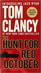 The Hunt for Red October, by Tom Clancy - Jack Ryan Books in Order