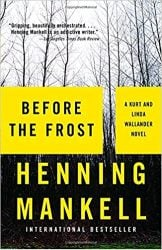 Before the Frost Wallander Books in Order