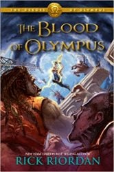 The Blood of Olympus - The Heroes of Olympus - Percy Jackson by Rick Riordan Books in Order