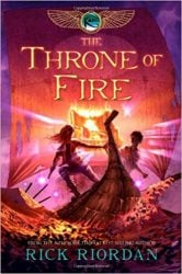 The Throne of Fire - The Kane Chronicles - Percy Jackson by Rick Riordan Books in Order