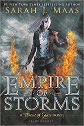 Empire of Storms Throne of Glass Book Series in Order