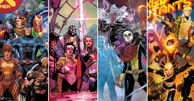 X-Men Jonathan Hickman