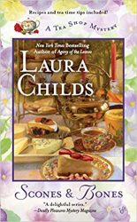 Scones & Bones Laura Childs Tea Shop Mysteries in Order