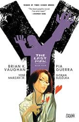 Y The Last Man Book Four by Brian K. Vaughan Comic Book Reading Order