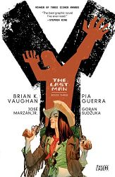 Y The Last Man Book Three by Brian K. Vaughan Comic Book Reading Order