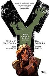 Y The Last Man Book Two by Brian K. Vaughan Comic Book Reading Order