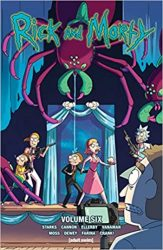 Rick and Morty Volume 6 Rick and Morty Comics Reading Order