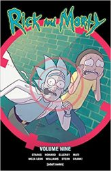 Rick and Morty Volume 9 Rick and Morty Comics Reading Order