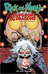 Rick and Morty vs Dungeons & Dragons II Painscape Rick and Morty Comics Reading Order