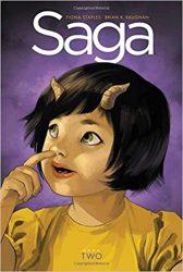 Saga Book Two Brian K Vaughan Fiona Staples Books in Order