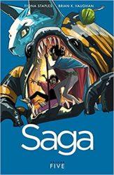 Saga Volume 5 Brian K Vaughan Fiona Staples Books in Order