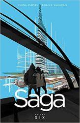 Saga Volume 6 Brian K Vaughan Fiona Staples Books in Order