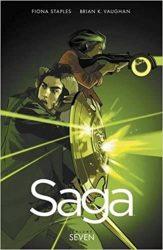 Saga Volume 7 Brian K Vaughan Fiona Staples Books in Order