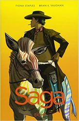 Saga Volume 8 Brian K Vaughan Fiona Staples Books in Order