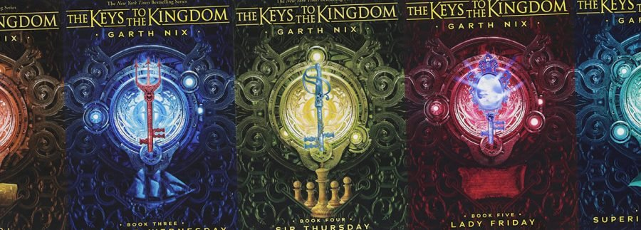 The Keys to the Kingdom Books in Order