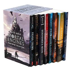Mortal Engines 8 Book Collection The World of Mortal Engines Books in Order