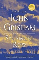 Sycamore Row Jake Brigance Book 2 John Grisham Books in Order