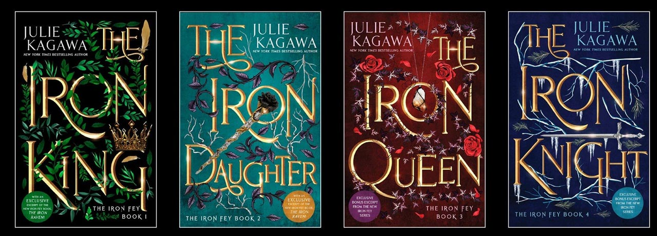 The Iron Fey Books in Order