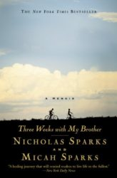 Three Weeks with My Brother - Nicholas Sparks Books in Order