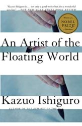 An Artist of the Floating World - Kazuo Ishiguro Books in Order