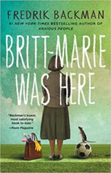 Britt-Marie Was Here Fredrik Backman Books in Order