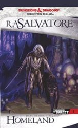 Homeland - The Dark Elf Trilogy - The Legend of Drizzt Books in Order