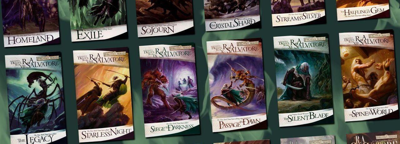Legend of Drizzt Books in Order