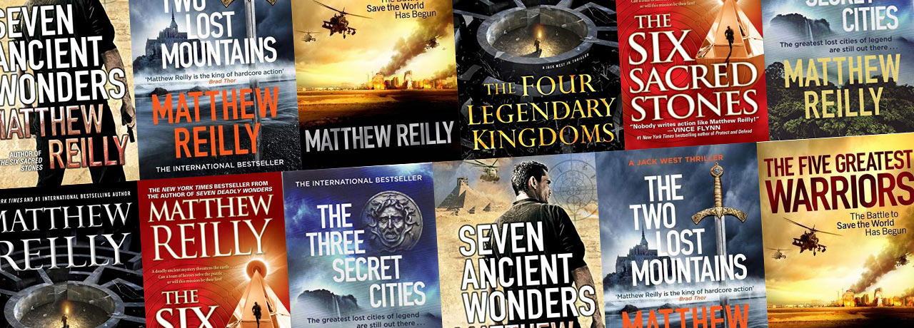 Jack West Jr Books in Order by Matthew Reilly