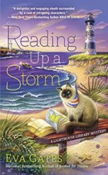 Reading Up a Storm - Lighthouse Library Mystery Series Book 3