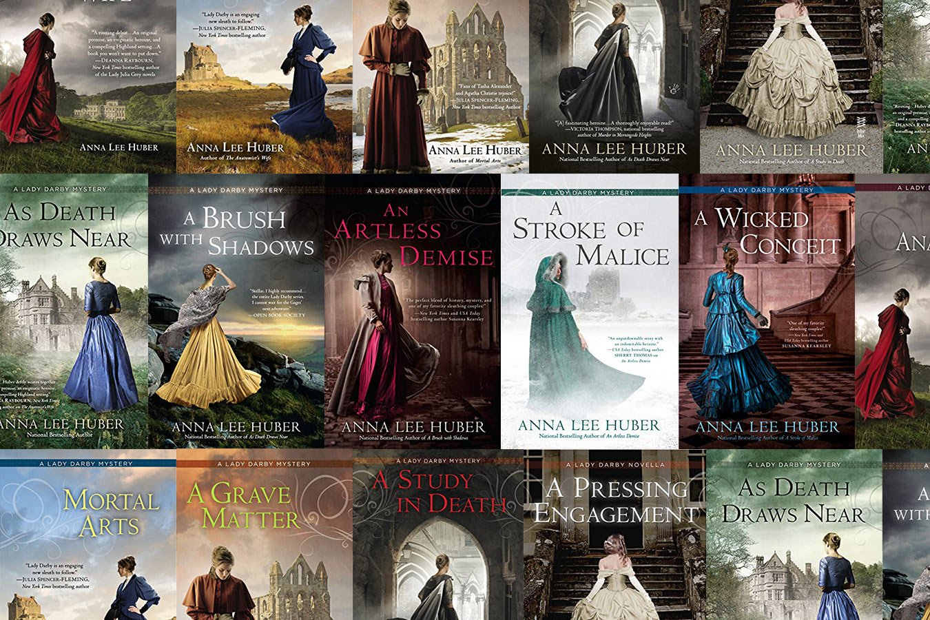 Lady Darby Mystery Books in Order