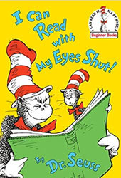 I Can Read With My Eyes Shut Dr Seuss Books In Order