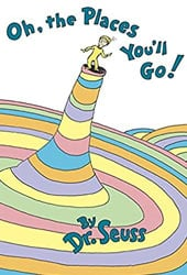Oh, The Places You'll Go Dr Seuss Books In Order
