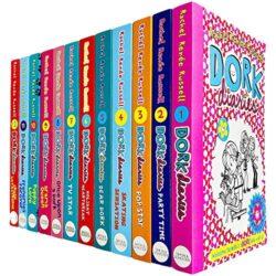 Dork Diaries Box Set 12 Volumes - Dork Diaries books in order by Rachel Renée Russell