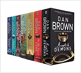 Robert Langdon Series Collection Dan Brown Books in Order